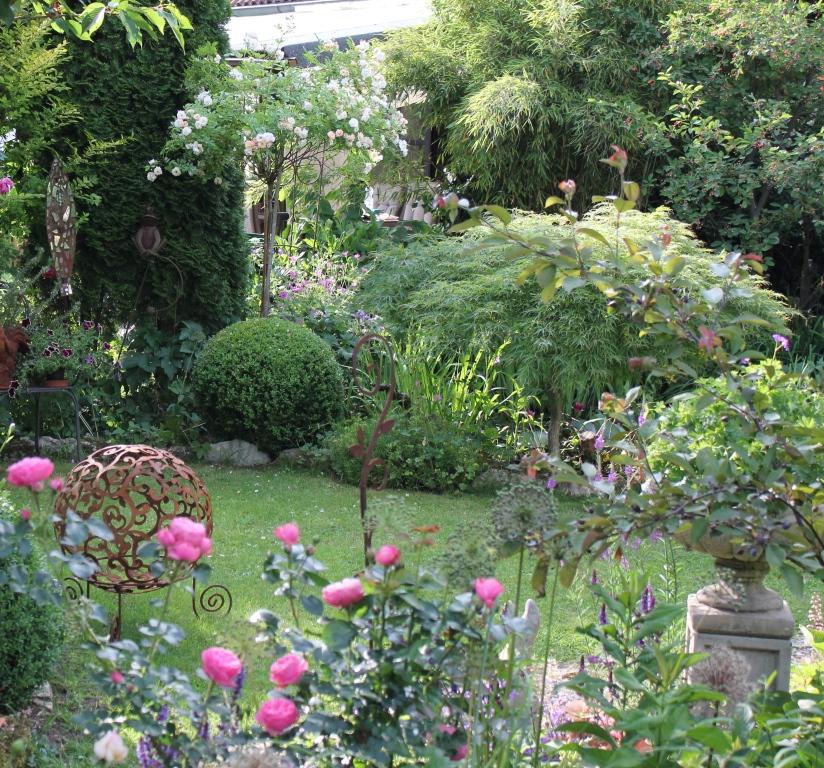 das war in meinem Garten in Eckental